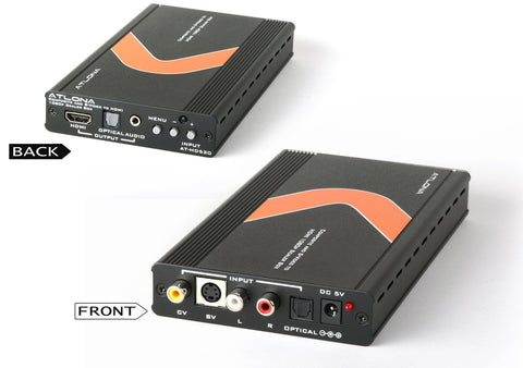 Atlona AT-HD520 Composite/S-Video + Audio To HDMI Scaler