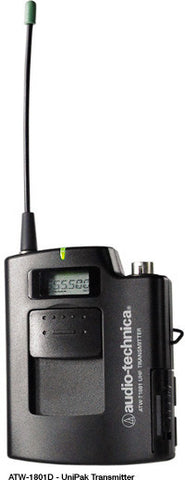 AudioTechnica Uni-pak Transmitter for 1800 Series Wireless Systems (TV 44-49)