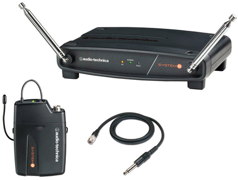 AT ATW-801 System 8 VHF Guitar Wireless Tx & Rx System 169.505