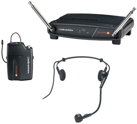AT ATW-801/H PRO 8HEcW Headworn Mic Wireless System 170.245