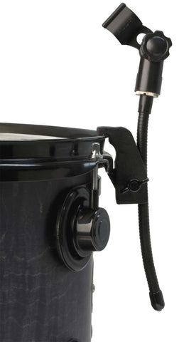 A high quality Image of Audix DVICE Flexible Mini-gooseneck with Rim Mounted Drum Clamp