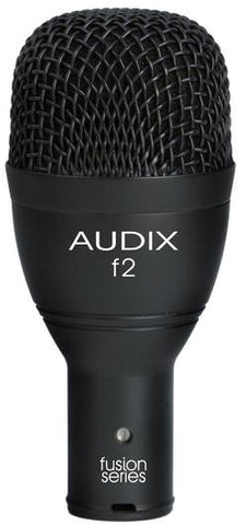 Audix F2 Fusion Series Dynamic Hypercardiod  Instrument Microphone