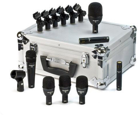 Audix FP7 7-piece Fusion Drum Mic Package