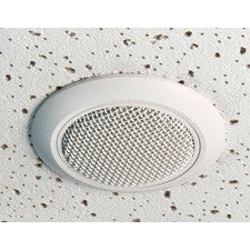 Audix M70W Flush Mount High Output Ceiling Mic. - White Finish