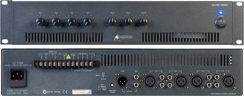 Australian Monitor AMC 250 - 250 Watt Rackmount Mixer Amplifier 2RU