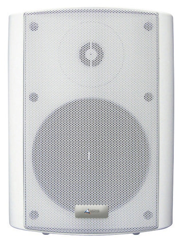 Australian Monitor 30 Watt Stereo Powered Speakers - White