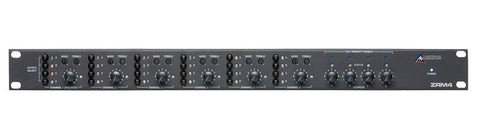 Australian Monitor 4 Zone Rackmount Mono Routing Mixer