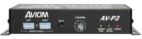 Aviom AV-P2 2-Channel Line-Level Output Module