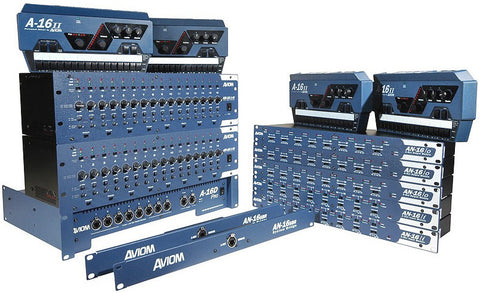 Aviom DS32MIX 32x16 Digital Snake with Personal Mixing