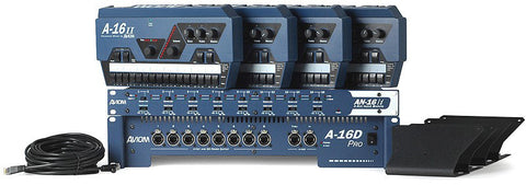 Aviom MIX4 4-Person Personal Mixing System