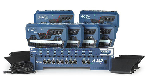 Aviom MIX6 6-Person Personal Mixing System