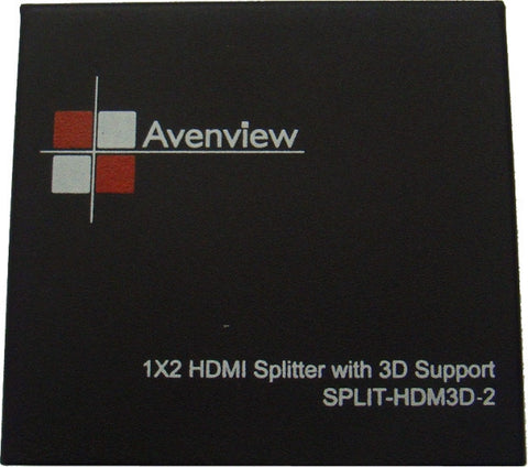 Avenview SPLIT-HDM3D-2 2 Port HDMI 1.3 Splitter with 3D Support