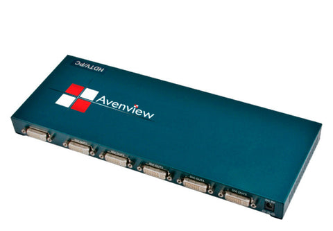 A high quality Image of Avenview SPLIT-DVI-5 1 Input 5 Output DVI Splitter