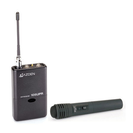 A high quality Image of Azden 105HT UHF Handheld System