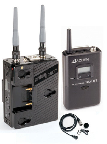 A high quality Image of Azden 1201ABS UHF Body-Pack System with ECM-44H Mic