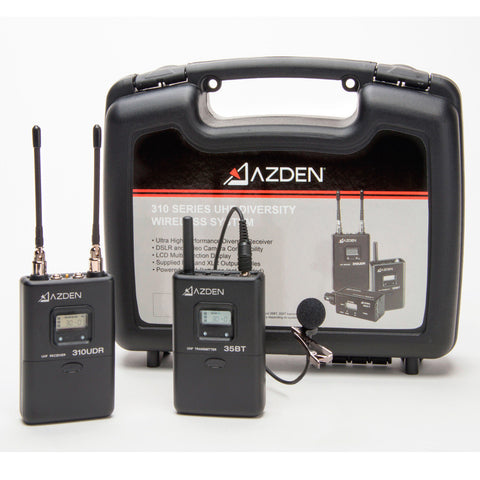Azden 310LT UHF On-Camera Body-Pack System