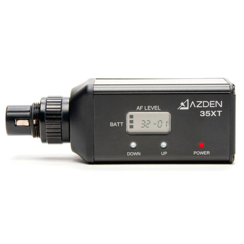 Azden 35XT 188 Channel XLR Snap-In Tansmitter with Digital Display