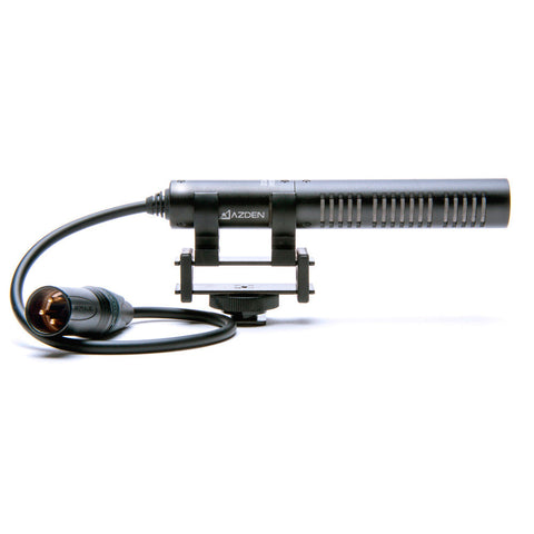 A high quality Image of Azden SGM-PDII Pro Mini Shotgun Microphone w/Balanced 3-Pin XLR
