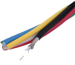 Belden 7700A 30 AWG 2-Conductor Plenum S-Video Cable 1000FT