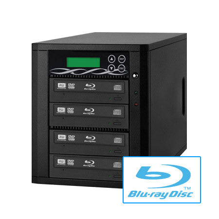 A high quality Image of ILY B04-SSPPRO 4 Target SATA 12x Blu-ray DVD/CD Duplicator
