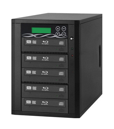 A high quality Image of ILY B05-SSPPRO 5 Target SATA 12x Blu-ray DVD/CD Duplicator