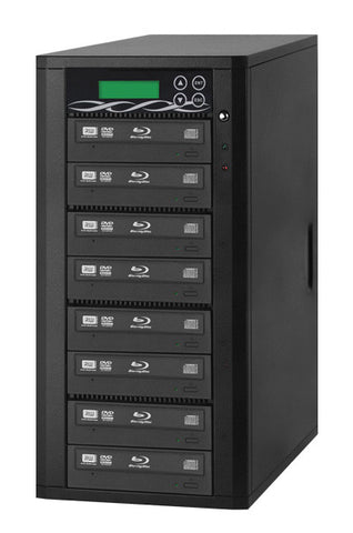 A high quality Image of ILY B08-SSPPRO 8 Target SATA 12x Blu-ray DVD/CD Duplicator
