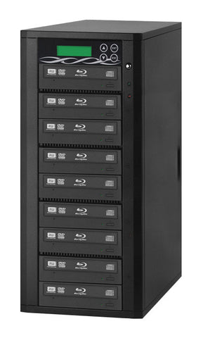 A high quality Image of ILY B09-SSPPRO 9 Target SATA 12x Blu-ray DVD/CD Duplicator