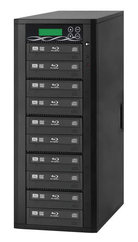 A high quality Image of ILY B10-SSPPRO 10 Target SATA 12x Blu-ray DVD/CD Duplicator