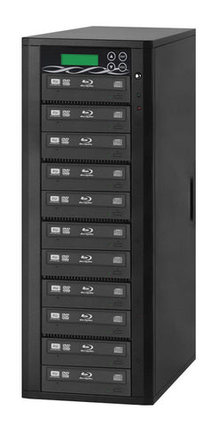 A high quality Image of ILY B11-SSPPRO 11 Target SATA 12x Blu-ray DVD/CD Duplicator