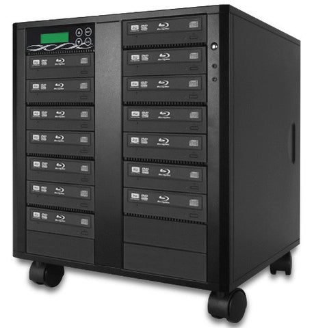 A high quality Image of ILY B14-SSPPRO 14 Target SATA 12x Blu-ray DVD/CD Duplicator