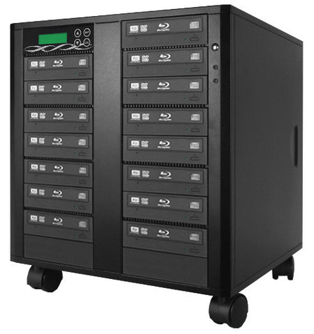 A high quality Image of ILY B15-SSPPRO 15 Target SATA 12x Blu-ray DVD/CD Duplicator