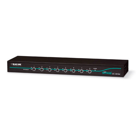 Black Box KV9508A 8-Port ServSwitch EC KVM Switch for DVI & USB Server
