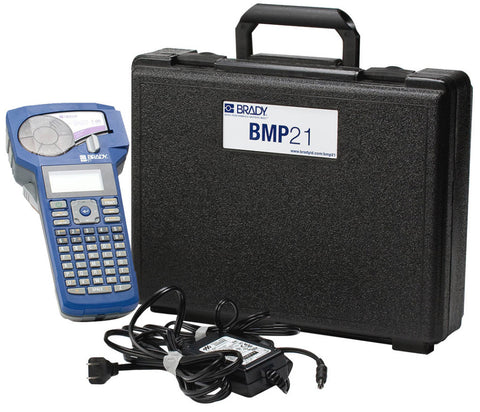 Brady BMP21-KIT-110941 BMP21 Kit with Carrying Case and AC Adapter