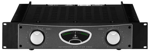 A high quality Image of Behringer A500 500W Studio Reference Amplifier