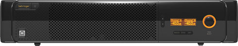 A high quality Image of Behringer AX6240Z DSP Equipped 2-Channel Amplifier (2x 900 Watt @ 70 V
