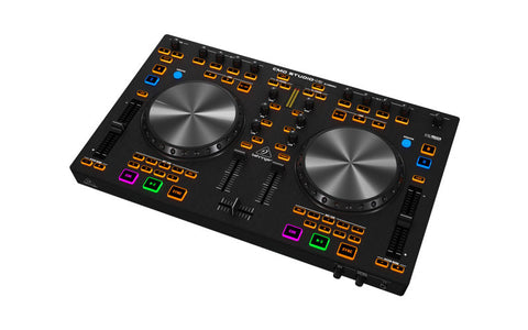 A high quality Image of Behringer CMD Studio 4A 4-Deck DJ MIDI Controller with 4-Channel Audio Interface
