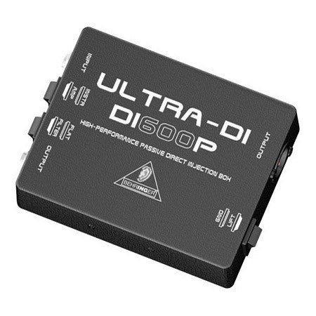 Behringer DI600P High-Performance Passive Direct Injection Box