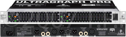 Behringer Ultragraph Pro 15 Band Stereo EQ w/Feedback Detection System