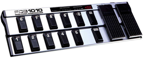 A high quality Image of Behringer FCB1010 Ultra-Flexible MIDI Foot Controller with 2 Expression Pedals