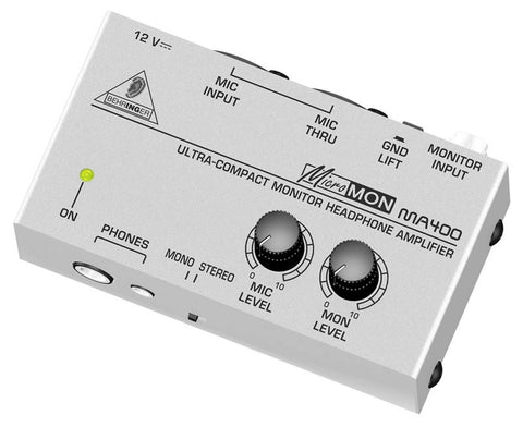 Behringer Micromon MA400 UltraCompact Monitor Headphone Amplifier