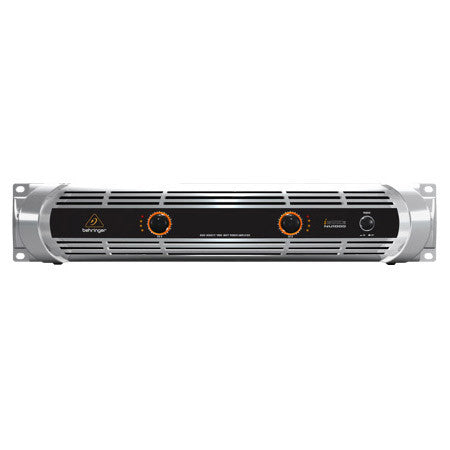 A high quality Image of Behringer NU1000 iNuke Ultra-Lightweight High-Density 1000W Power Amp