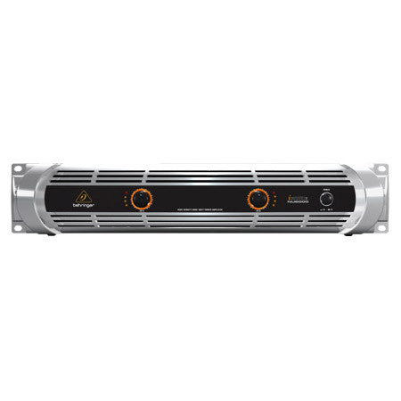 A high quality Image of Behringer NU6000 iNuke Ultra-Lightweight High-Density 6000W Power Amp