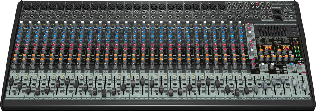 A high quality Image of Behringer Eurodesk SX3242FX 32-Channel Analog Mixer