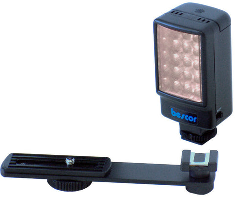 Bescor LED-25 Compact 25 Watt On Camera DSLR LED Light