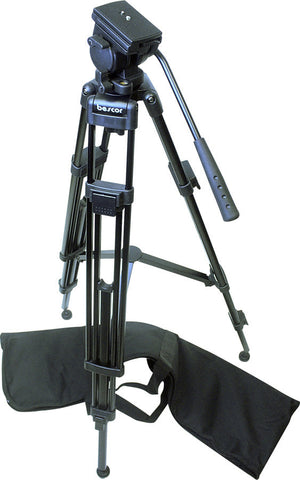 A high quality Image of Bescor Lightweight Tripod System With Spreader and Bag