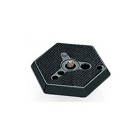 Manfrotto 030-14 Hexagonal Replacement Quick Release Plate 1/4-20
