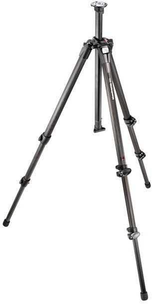 A high quality Image of Manfrotto 055CX3 CF 3 Section Tripod with Low Angle Adapter - No Q90 Center Column