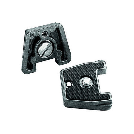 Manfrotto 384PL-14 Dove Tail Rapid Connect Mounting Plate with 1/4 Inch-20 Screw