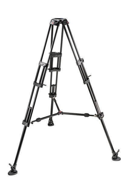 Manfrotto 545B Pro Alu Video Tripod 100/75mm Bowl 2 Stage Tandem Leg