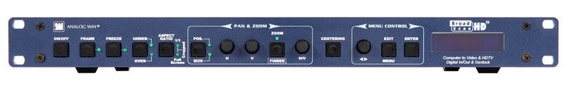 Analog Way HD Scan Converter-Analog Genlock